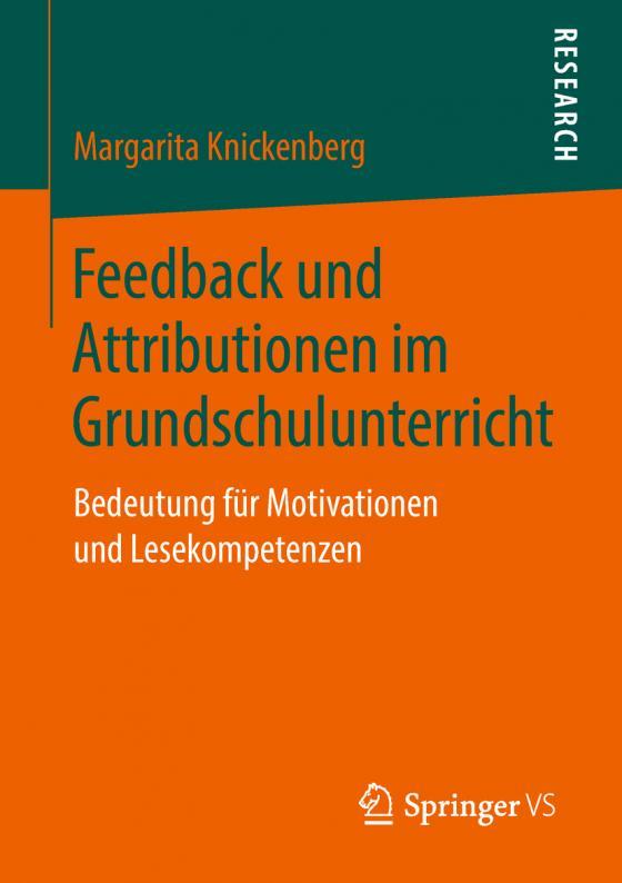 Cover-Bild Feedback und Attributionen im Grundschulunterricht