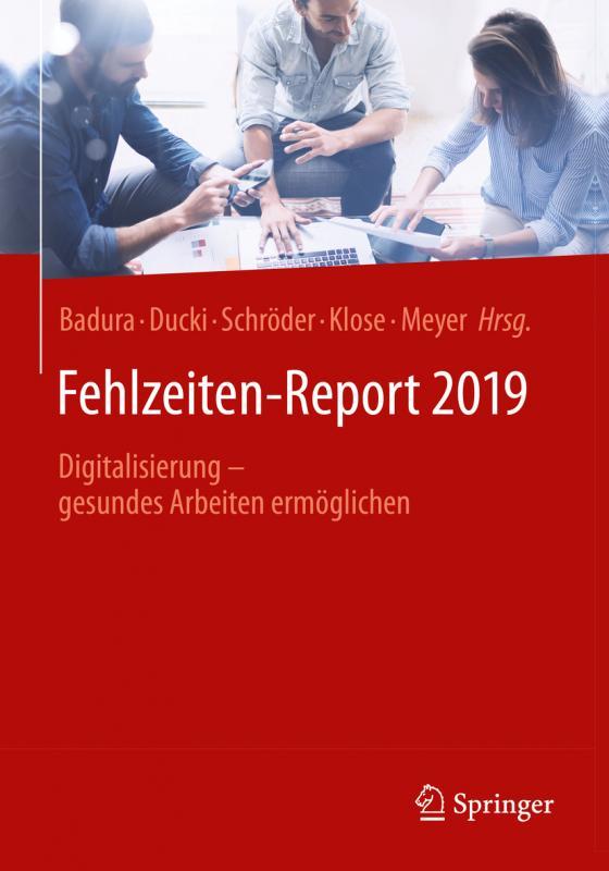 Cover-Bild Fehlzeiten-Report 2019