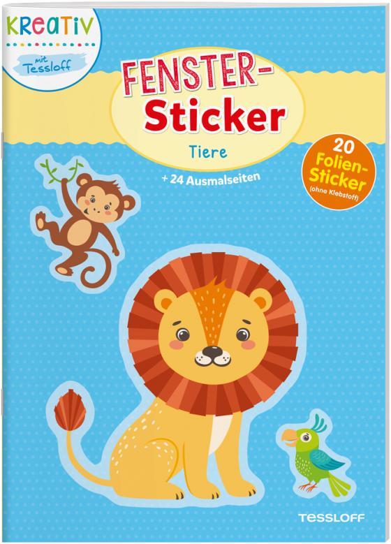 Cover-Bild Fenster-Sticker. Tiere