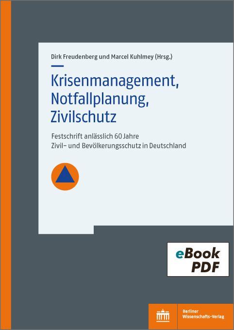 Cover-Bild Festschrift anlässlich 60 Jahre Zivil- und Bevölkerungsschutz in Deutschland