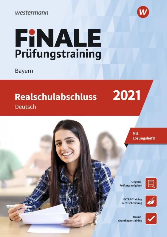 Cover-Bild FiNALE Prüfungstraining / FiNALE - Prüfungstraining Realschulabschluss Bayern