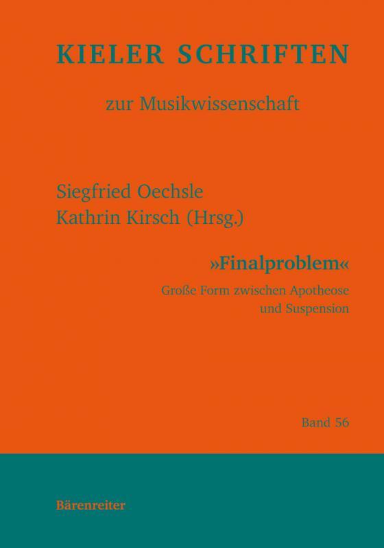 Cover-Bild Finalproblem