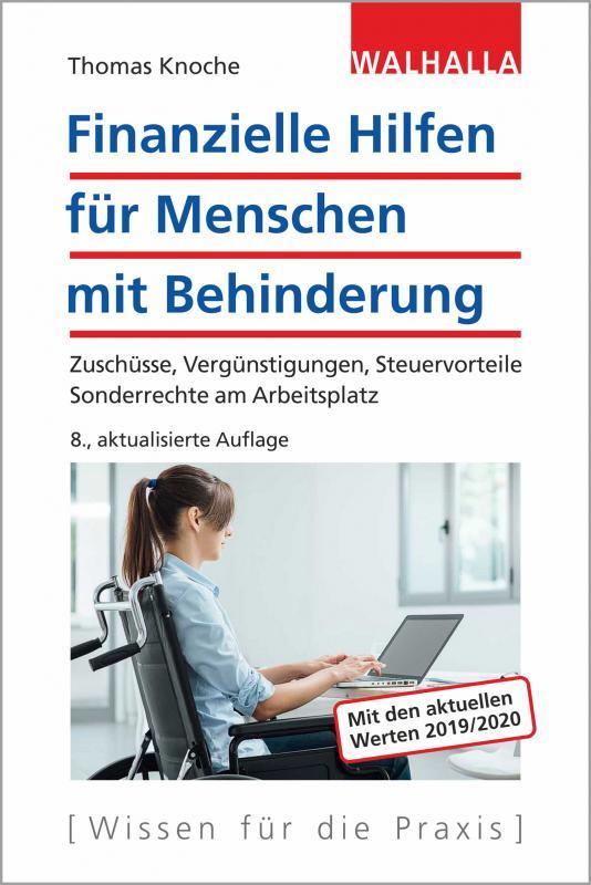 Cover-Bild Finanzielle Hilfen für Menschen mit Behinderung