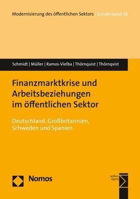 Cover-Bild Finanzmarktkrise und Arbeitsbeziehungen im öffentlichen Sektor