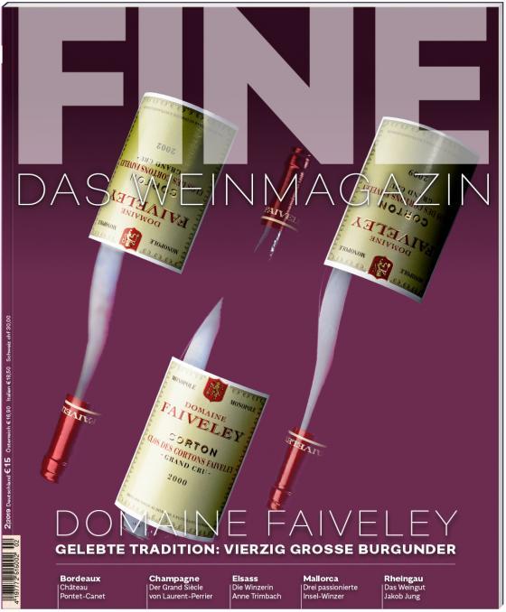 Cover-Bild FINE Das Weinmagazin 02/2019