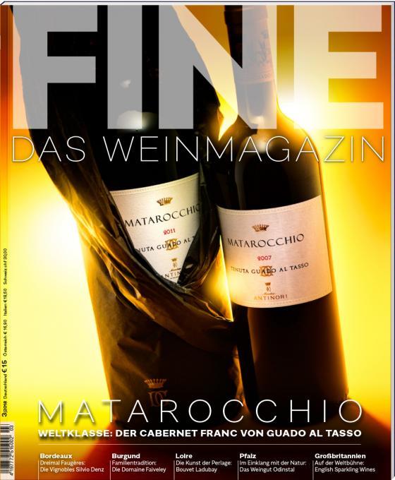 Cover-Bild FINE Das Weinmagazin 03/2018