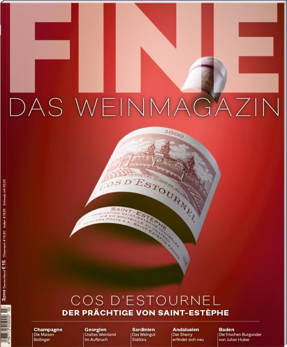 Cover-Bild FINE Das Weinmagazin 03/2019