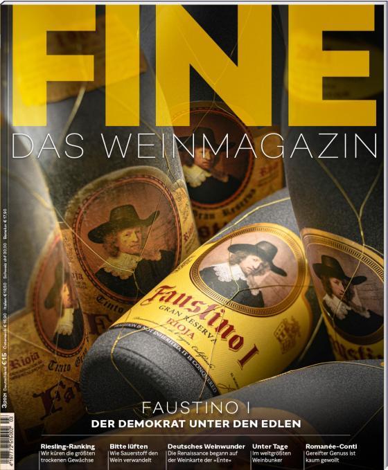 Cover-Bild FINE Das Weinmagazin 03/2021