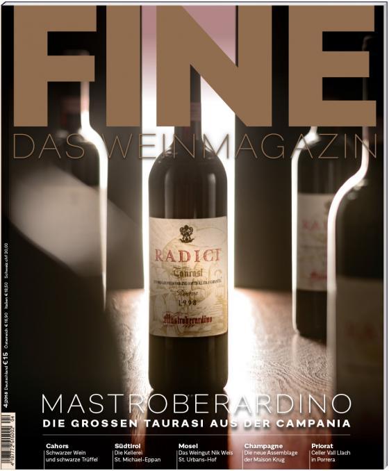 Cover-Bild FINE Das Weinmagazin 04/2018