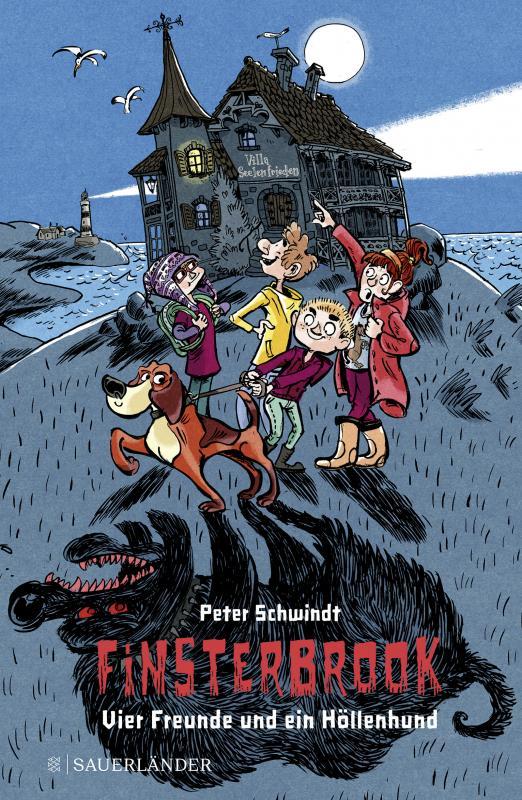 Cover-Bild Finsterbrook - Vier Freunde und ein Höllenhund