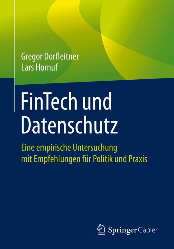Cover-Bild FinTech und Datenschutz