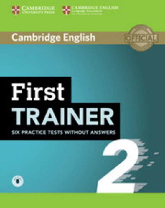 Cover-Bild First Trainer 2 for the revised exam
