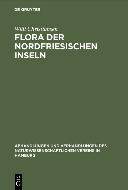 Cover-Bild Flora der Nordfriesischen Inseln