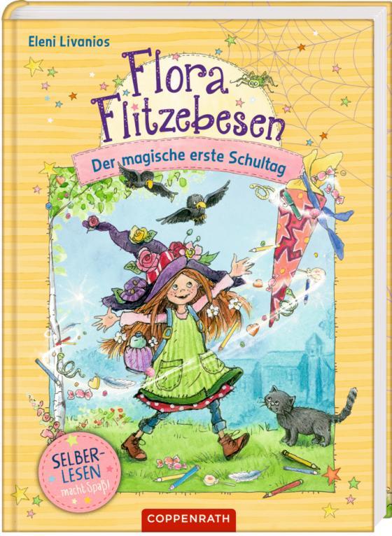 Cover-Bild Flora Flitzebesen (für Leseanfänger)