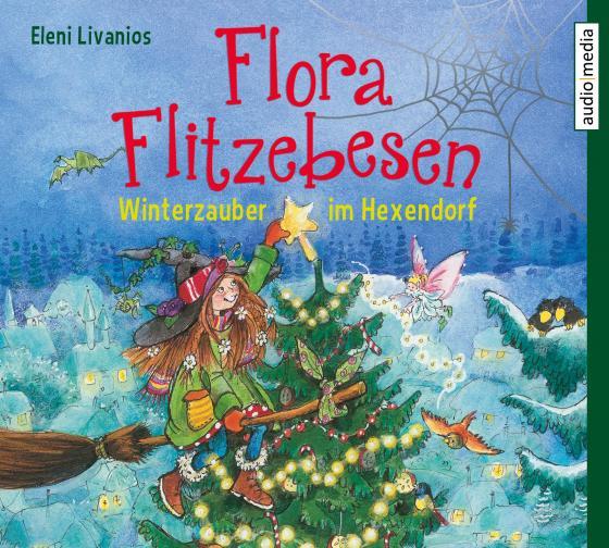 Cover-Bild Flora Flitzebesen. Winterzauber im Hexendorf