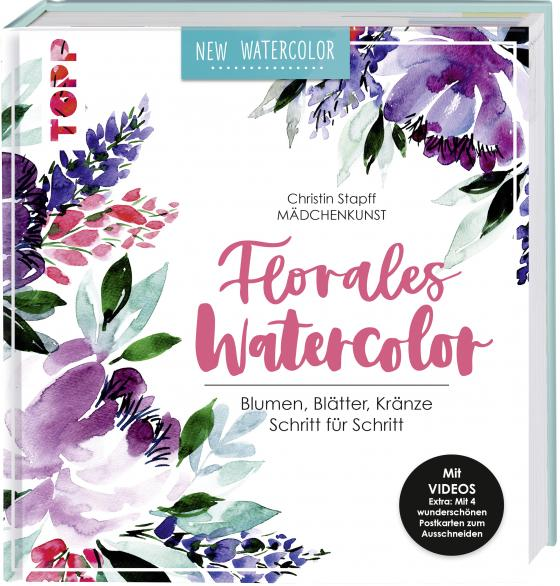 Cover-Bild Florales Watercolor