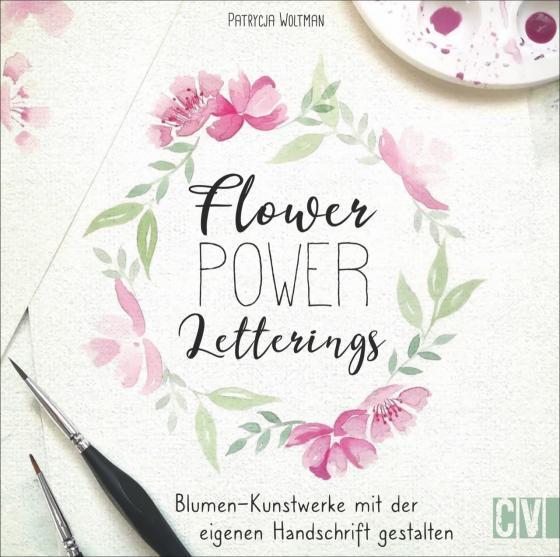 Cover-Bild Flower Power Letterings