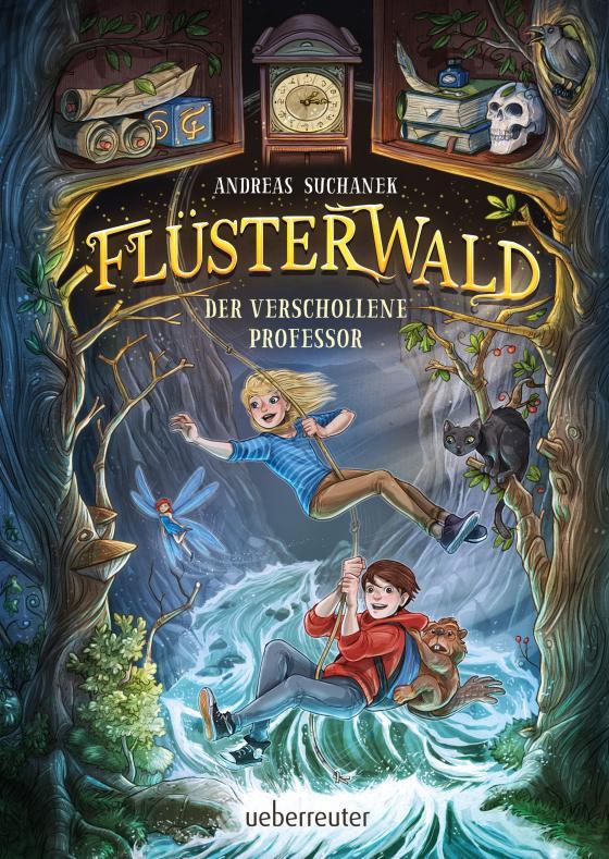Cover-Bild Flüsterwald - Der verschollene Professor (Flüsterwald, Bd. 2)