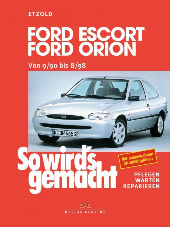 Cover-Bild Ford Escort/Ford Orion von 9/90 bis 8/98