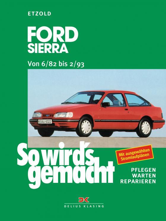 Cover-Bild Ford Sierra von 6/82 bis 2/93