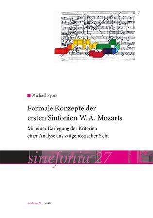 Cover-Bild Formale Konzepte der ersten Sinfonien W.A. Mozarts