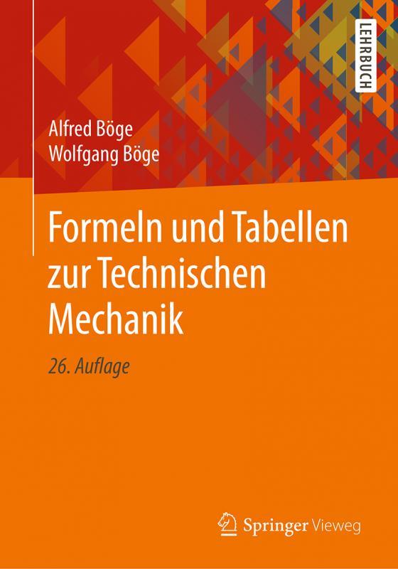 Cover-Bild Formeln und Tabellen zur Technischen Mechanik