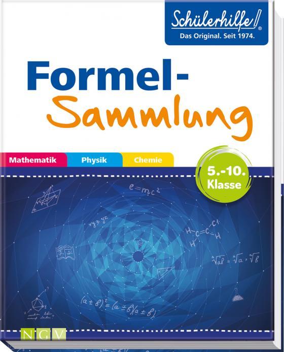 Cover-Bild Formelsammlung Mathematik, Physik, Chemie