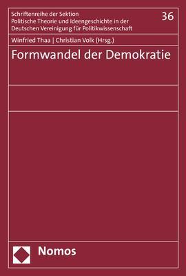 Cover-Bild Formwandel der Demokratie
