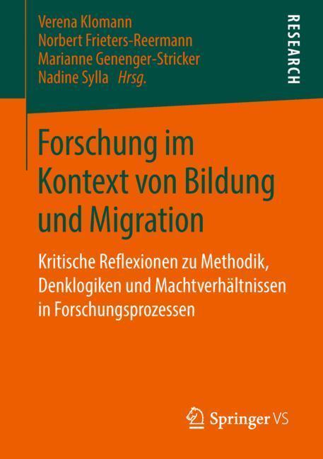 Cover-Bild Forschung im Kontext von Bildung und Migration