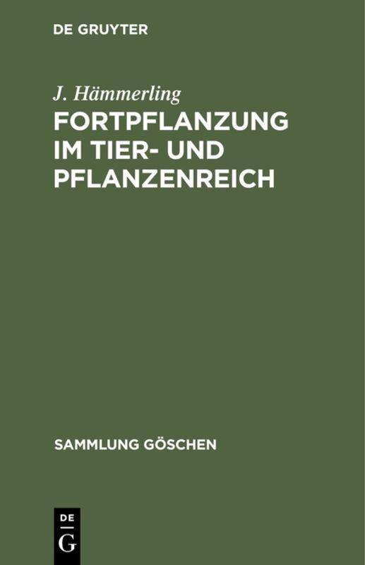 Cover-Bild Fortpflanzung im Tier- und Pflanzenreich