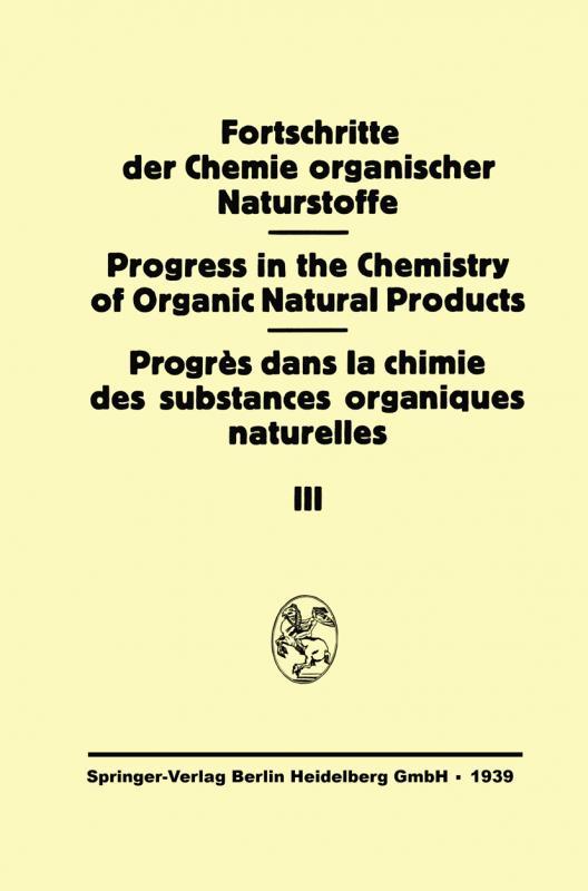 Cover-Bild Fortschritte der Chemie Organischer Naturstoffe