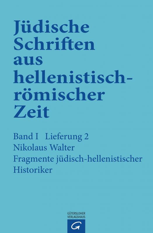 Cover-Bild Fragmente jüdisch-hellenistischer Historiker