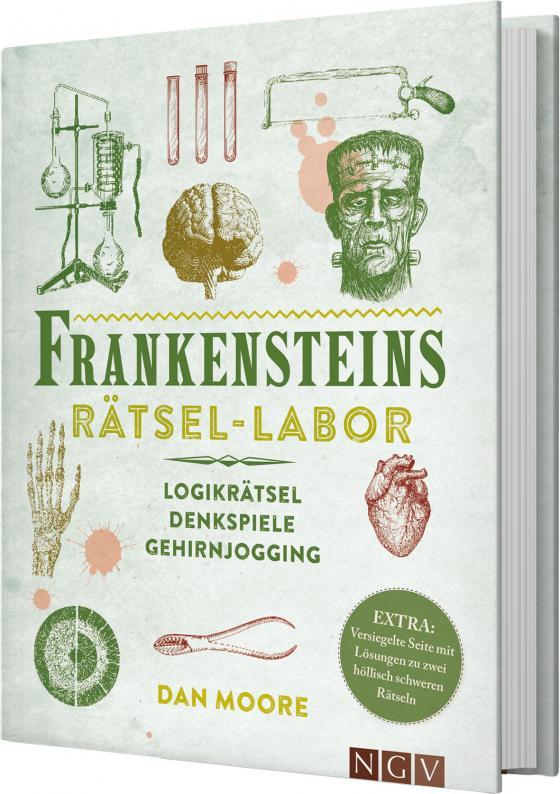 Cover-Bild Frankensteins Rätsel-Labor