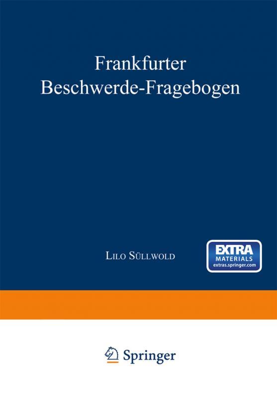 Cover-Bild Frankfurter Beschwerde-Fragebogen