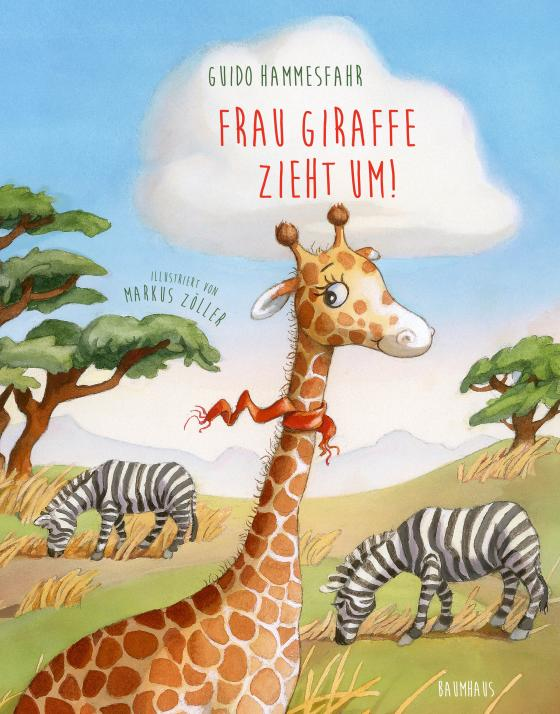 Cover-Bild Frau Giraffe zieht um!