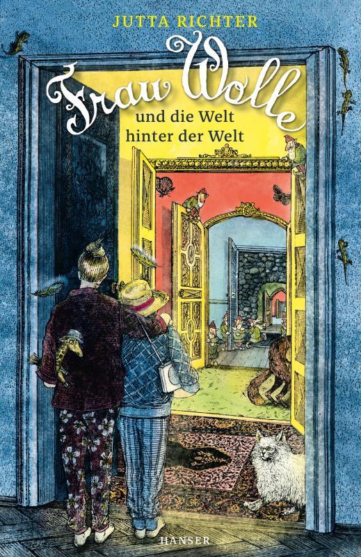 Cover-Bild Frau Wolle und die Welt hinter der Welt