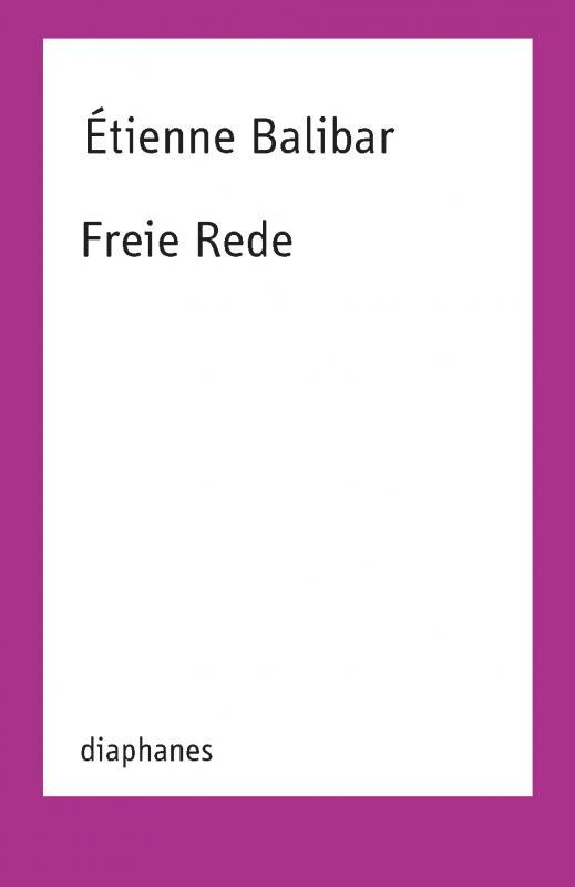 Cover-Bild Freie Rede