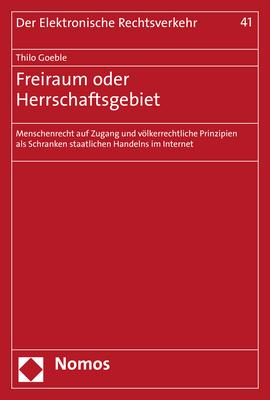 Cover-Bild Freiraum oder Herrschaftsgebiet