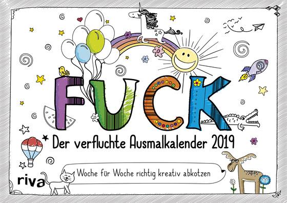 Cover-Bild FUCK – Der verfluchte Ausmalkalender 2019