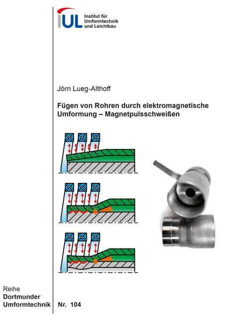 Cover-Bild Fügen von Rohren durch elektromagnetische Umformung – Magnetpulsschweißen