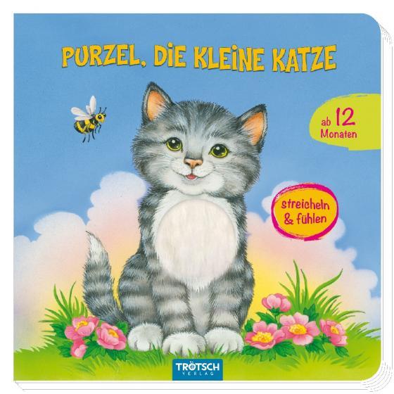 """Cover-Bild Fühlbuch """"Purzel, die kleine Katze"""""""