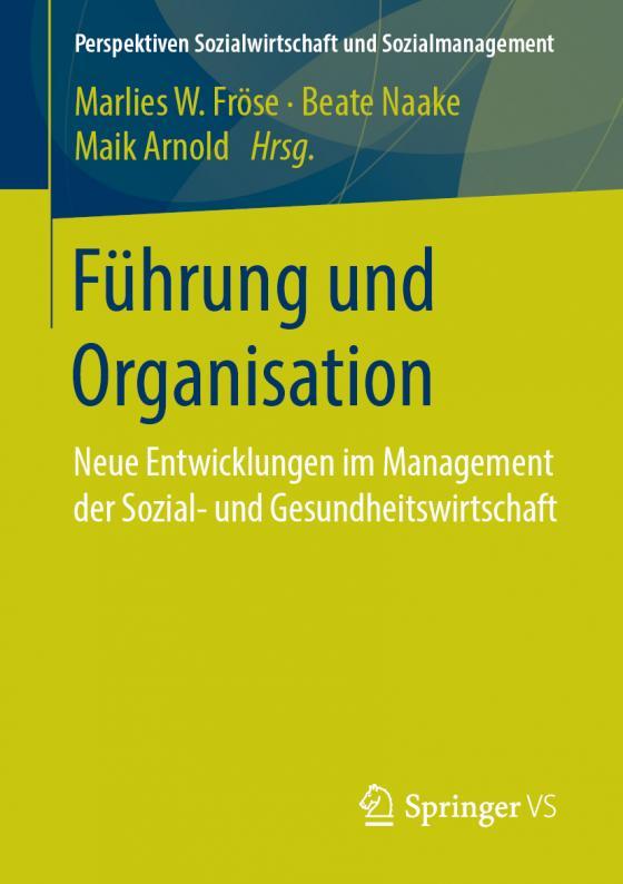 Cover-Bild Führung und Organisation