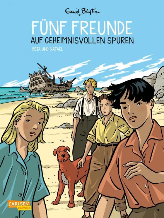 Cover-Bild Fünf Freunde 3: Fünf Freunde auf geheimnisvollen Spuren