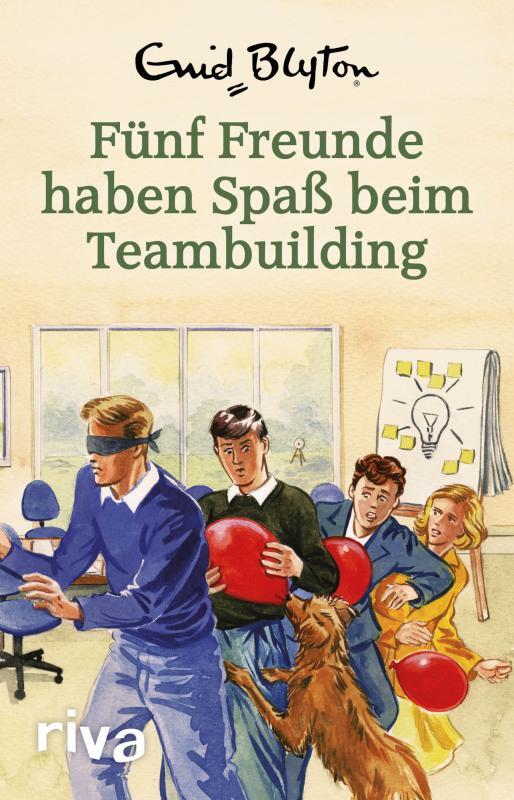 Cover-Bild Fünf Freunde haben Spaß beim Teambuilding