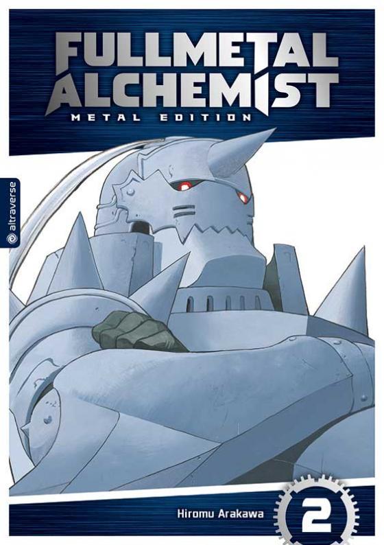 Cover-Bild Fullmetal Alchemist Metal Edition 02