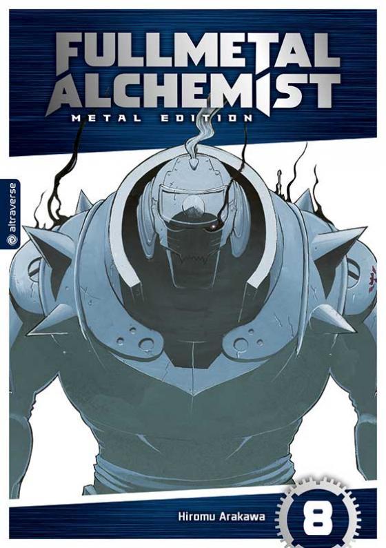 Cover-Bild Fullmetal Alchemist Metal Edition 08