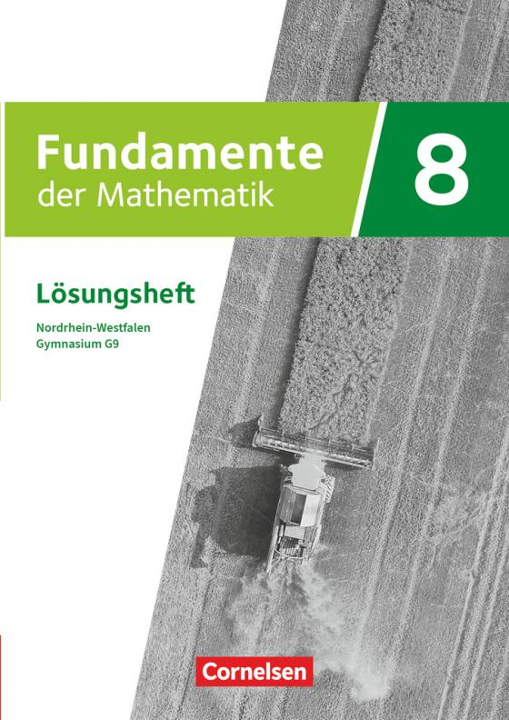 Cover-Bild Fundamente der Mathematik - Nordrhein-Westfalen - Ausgabe 2019 - 8. Schuljahr