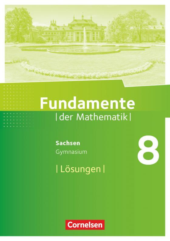 Cover-Bild Fundamente der Mathematik - Sachsen - 8. Schuljahr