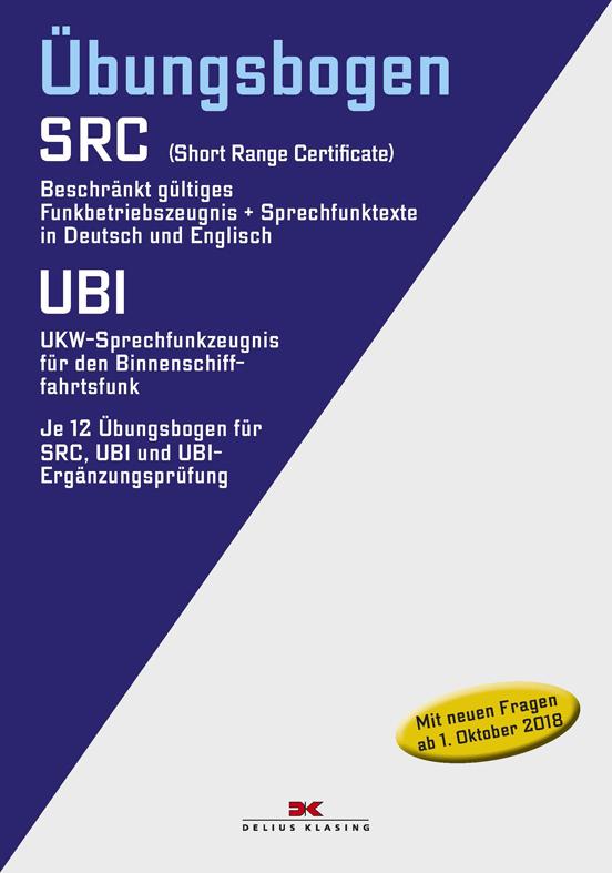 Cover-Bild Funkbetriebszeugnis (SRC) / UKW-Sprechfunkzeugnis für den Binnenschifffahrtsfunk (UBI)