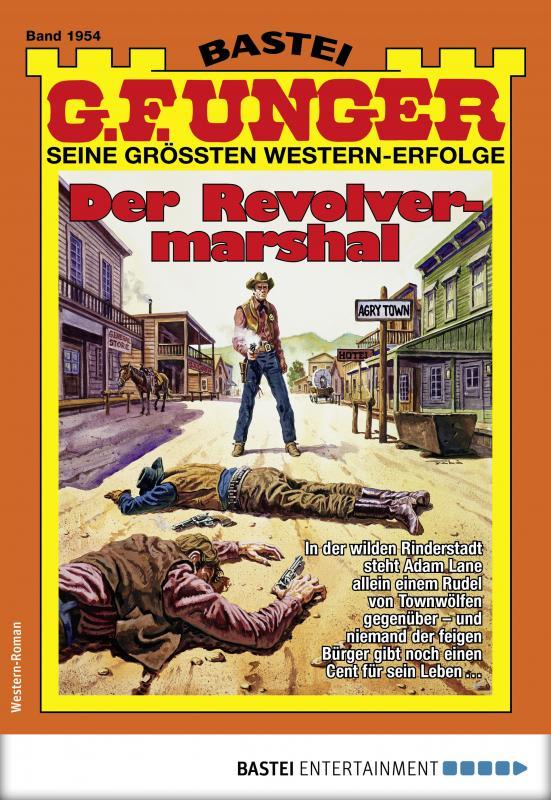 Cover-Bild G. F. Unger 1954 - Western